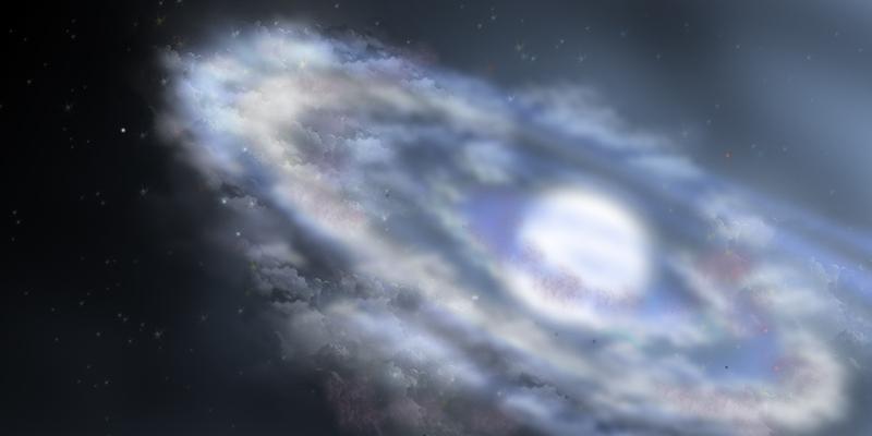 Photo of a galaxy - who created God?
