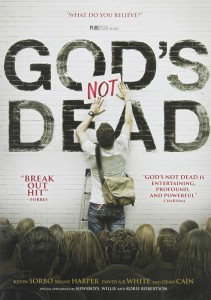 DVD Cover - God's Not Dead Review