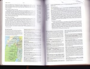 Example scan of ESV study Bible notes