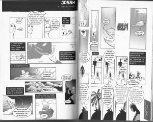 Scan image of the Manga Bible - Book of Jonah