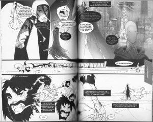 Scan image of manga Bible: Jesus encountering Satan