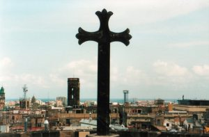 Photo of a large cross - cover for Why is the Cross a Symbol of Christianity?