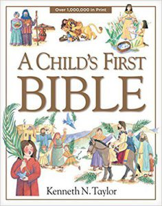 "Cover of ""A Child's First Bible"""