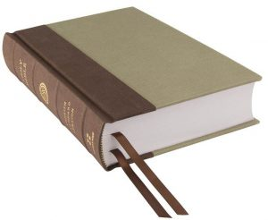 Photo of a reader's Bible