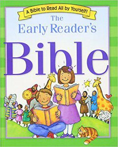 Front cover of the early reader's Bible by V. Gilbert Beers