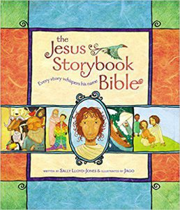 Front cover of the Jesus Storybook Bible by Sally Lloyd Jones