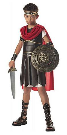 Photo of Roman soldier Halloween costume for kids