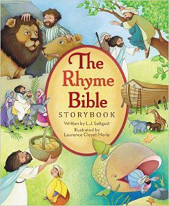 Cover of the Rhyme Bible storybook
